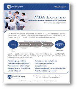 MBA Executivo em Desenvolvimento do Potencial Humano